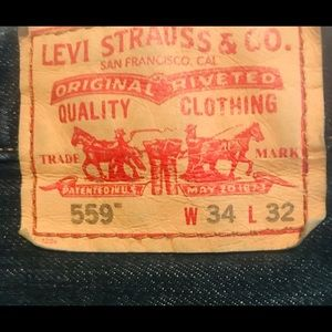 Levi's Jeans - Levi 559 Relaxed Straight Jeans